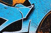 ein awesome colorful Graffiti-Bild