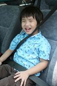 Boy With Seat-Belt