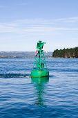 Green Starboard Marker Buoy