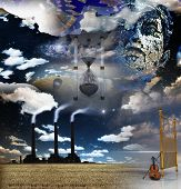 Surreal Artistic Montage