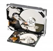 Two Computer Hard Disk