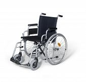 Wheelchair In White Back