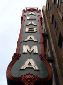 Alabama Theater Sign