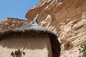 foto of dogon  - Granaries in a Dogon village Mali (Africa).  ** Note: Slight graininess, best at smaller sizes  - JPG