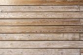 The Texture Of The Boards. Wooden Wall Of The House. A Fence Made Of Boards. Wooden Floor Natural poster