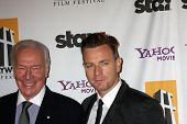 LOS ANGELES - OCT 24:  Christopher Plummer and Ewan McGregor arriving at the 15th Annual Hollywood Film Awards Gala at Beverly Hilton Hotel on October 24, 2011 in Beverly Hllls, CA