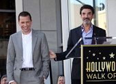 LOS ANGELES - SEP 18:   Jon Cryer & Chuck Lorre arrives to the Walk of Fame - JON CRYER  on Septembe