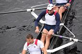 US Rowing races in the Head of Charles Regatta