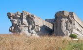 Monument To Defenders Of Adzhimushkay Quarry In The Ii World War, Kerch, Ukraine