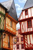 Medieval Vannes, France poster