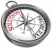 Lösung Problem Konzept Kompass