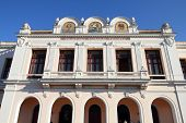 pic of tomas  - Theater Tomas Terry building in Cienfuegos Cuba - JPG