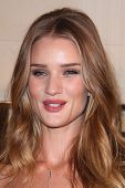 LOS ANGELES - OCT 26: Rosie Huntington-Whiteley arriving at the Burberry Body Launch at Burberry on