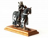 Medieval Knight Figurine poster