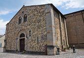 Parish church of Fornovo di Taro. Emilia-Romagna. Italy.