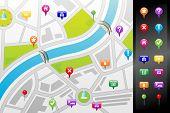 Mapa GPS Street