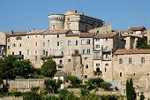 Medieval Town Gordes In France poster