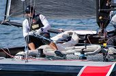Alinghi Compete In The Extreme Sailing Series