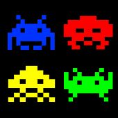 Retro Game Characters