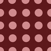 Dotted, Pop Art Background, Pop Art Pattern. Symbolic Background Of Art Of 1960s. Circle Art Round B poster