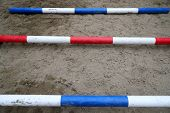 Accesories For Horse Trainings And Events In Rural Equestrian Training Centre poster