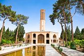 Dowlat Abad Garden - A masterpiece of Iranian Engineering highest windcatcher in Persia . Yazd, Iran