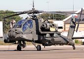 Apache Helicopter Pre-flight Check