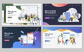 Set Of Musicians Getting Ready For Performance. Flat Vector Illustrations Of Customers Shopping Onli poster
