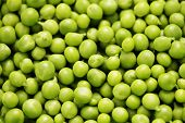 fresh green peas - fruits and vegetables /shallow DOFF/