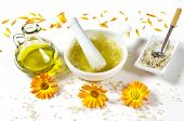 Skin Peeling Ingredients Sea Salt And Olive Oil