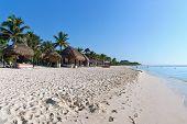 Playa en Playa del Carmen, México