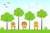 Animals in Jungle