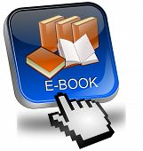 E-Book Button with Cursor
