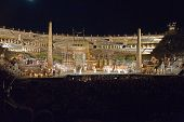 Performance Of Aida In The Arena Of Verona