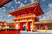 foto of inari  - Fushimi Inari Taisha Shrine  - JPG