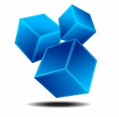 Dynamic Squares Logo