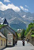 Mountain Village Gavarnie In The Pyrenees