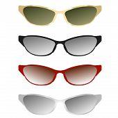 sunglasses vector illustration