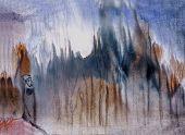 O Gnome em um nevoeiro
