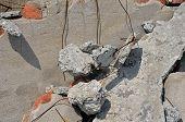 Destroyed Concrete