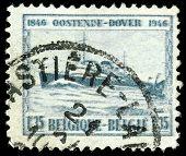 Vintage Belguim Stamp