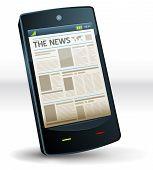 Newspaper Inside Pocket Mobile Phone