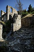 stock photo of sparta  - Mystras is a fortified town situated on Mt - JPG