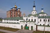 Ancient Orthodox Churches in Ryazan