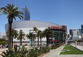 The Staples Center in Downtown Los Angeles