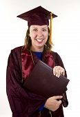 Nontraditional Student Graduating