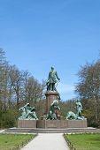 Bismarck Memorial In Berlin