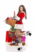 Sensual Santa Girl With Presents
