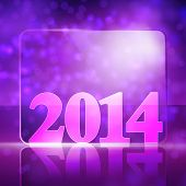 vector new year 2014 beautiful design