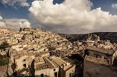Ancient city Matera in Italy